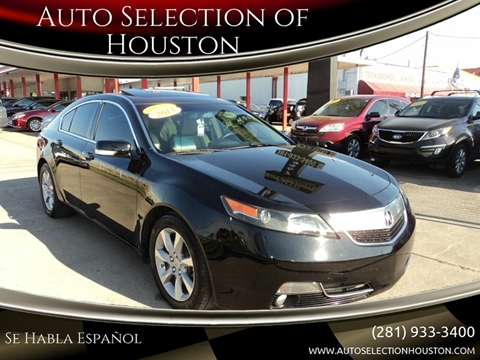 2014 Acura TL for sale in Houston, TX