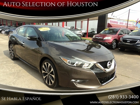 Auto Selection Of Houston Buy Here Pay Here Used Cars Houston Tx