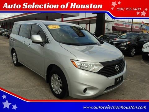 2016 Nissan Quest for sale in Houston, TX