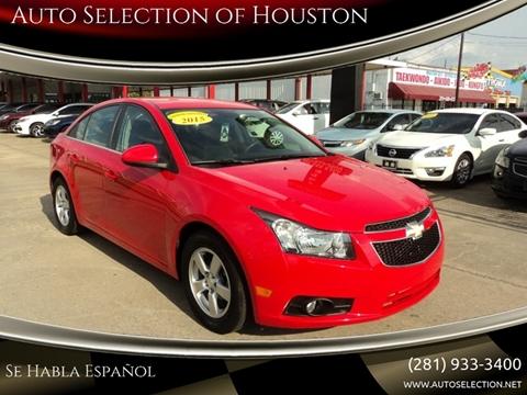 2015 Chevrolet Cruze for sale in Houston, TX