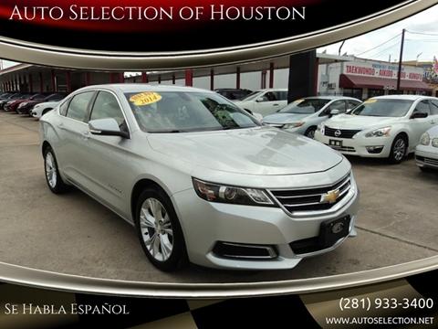 2014 Chevrolet Impala for sale in Houston, TX