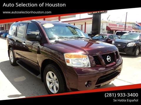 2014 Nissan Armada for sale at Auto Selection of Houston in Houston TX
