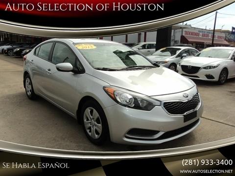 2015 Kia Forte for sale in Houston, TX