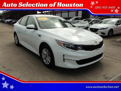 2016 Kia Optima for sale in Houston, TX