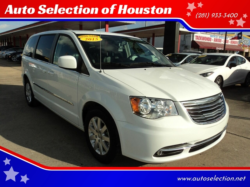 2015 Chrysler Town and Country for sale at Auto Selection of Houston in Houston TX