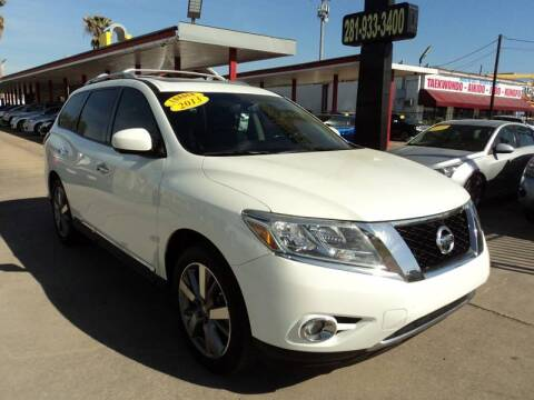 2013 Nissan Pathfinder for sale at Auto Selection of Houston in Houston TX