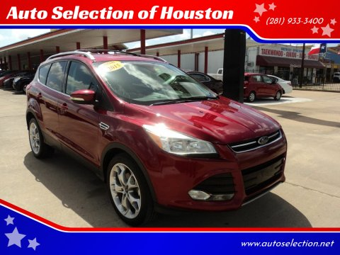 2014 Ford Escape for sale at Auto Selection of Houston in Houston TX