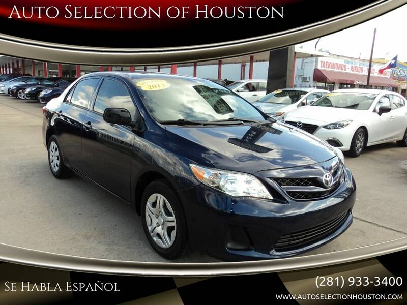 2013 Toyota Corolla for sale at Auto Selection of Houston in Houston TX