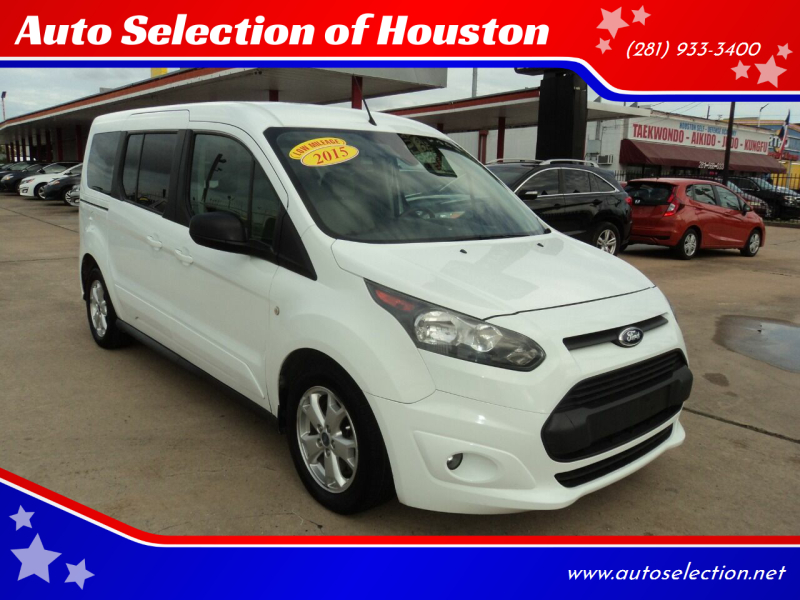 2015 Ford Transit Connect Wagon for sale at Auto Selection of Houston in Houston TX