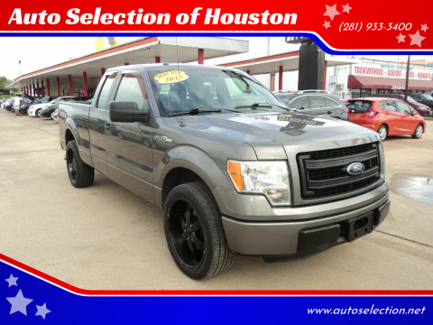 2013 Ford F-150 for sale at Auto Selection of Houston in Houston TX