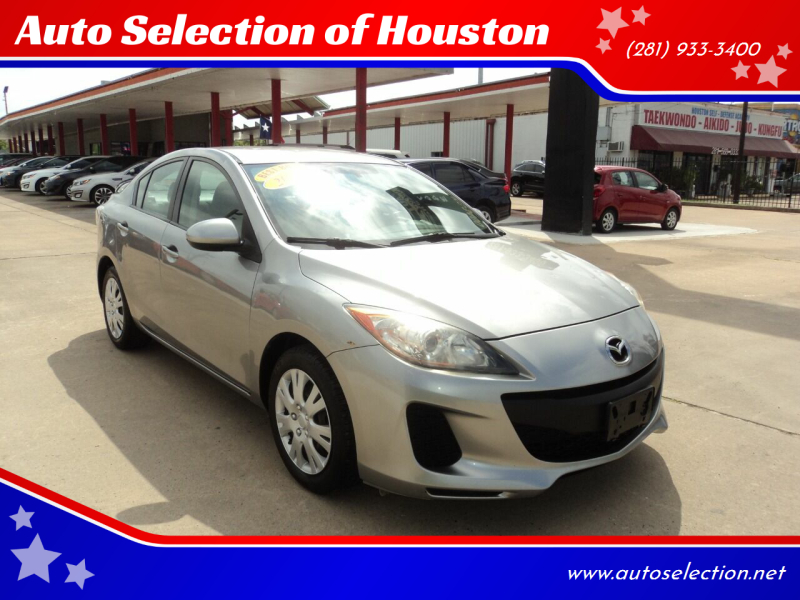 2012 Mazda MAZDA3 for sale at Auto Selection of Houston in Houston TX