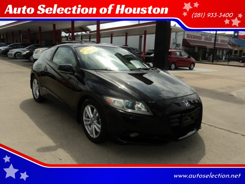 2011 Honda CR-Z for sale at Auto Selection of Houston in Houston TX