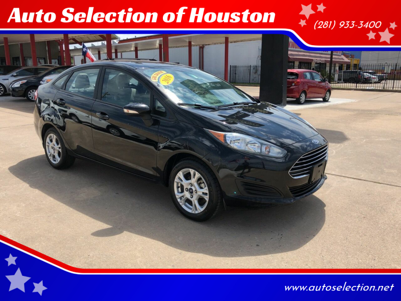 2016 Ford Fiesta for sale at Auto Selection of Houston in Houston TX