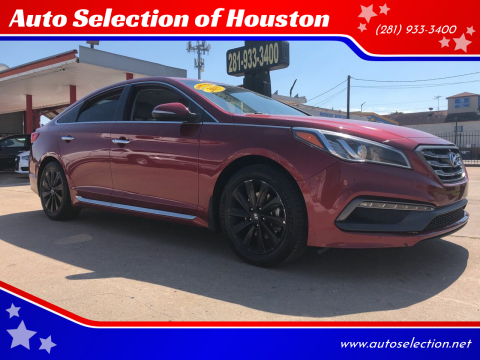 2015 Hyundai Sonata for sale at Auto Selection of Houston in Houston TX