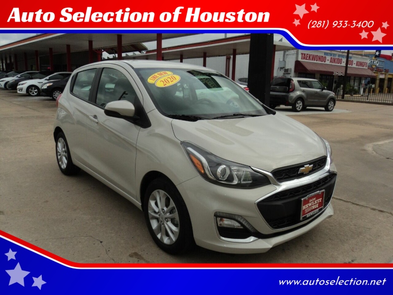 2020 Chevrolet Spark for sale at Auto Selection of Houston in Houston TX