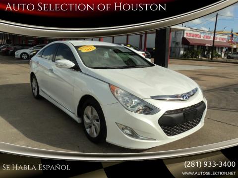 2015 Hyundai Sonata Hybrid for sale at Auto Selection of Houston in Houston TX