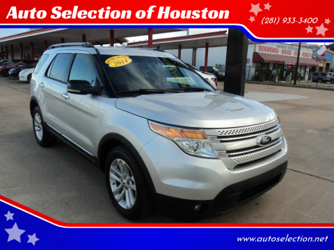 2014 Ford Explorer for sale at Auto Selection of Houston in Houston TX