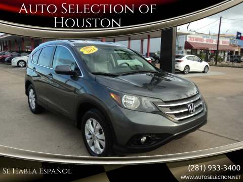 2014 Honda CR-V for sale at Auto Selection of Houston in Houston TX