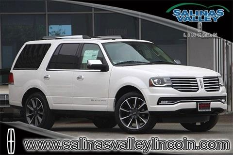 2016 Lincoln Navigator for sale in Salinas, CA
