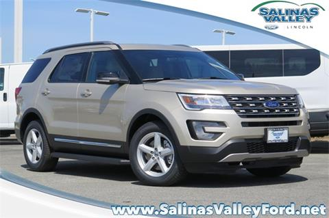 2017 Ford Explorer for sale in Salinas, CA
