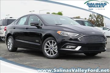 2017 Ford Fusion Energi for sale in Salinas, CA