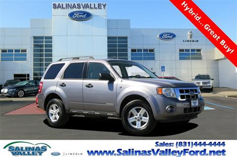 2008 Ford Escape Hybrid for sale in Salinas, CA
