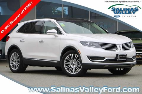 2018 Lincoln MKX for sale in Salinas, CA