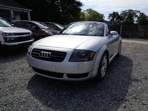 2004 Audi TT for sale at FM Auto Sales in Pineville NC