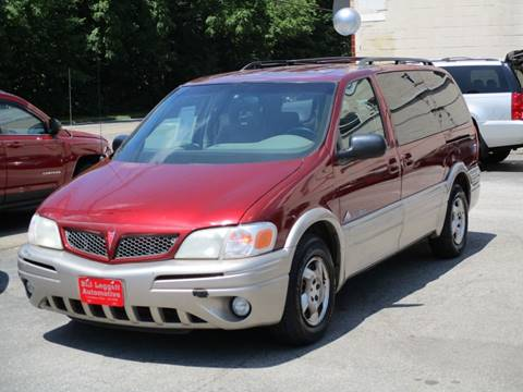 2002 Pontiac Montana for sale in Columbus, OH