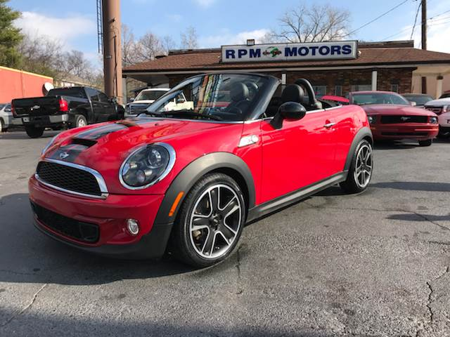 2015 Mini Roadster Cooper S 2dr Convertible In Nashville Tn Rpm Motors