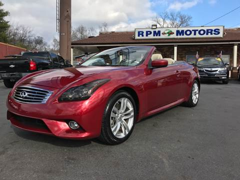 Infiniti For Sale >> 2014 Infiniti Q60 Convertible For Sale Carsforsale Com