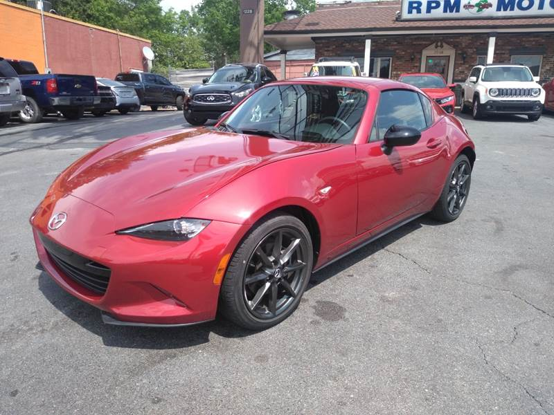 2017 Mazda Mx 5 Miata Rf Club >> 2017 Mazda Mx 5 Miata Rf Club 2dr Convertible 6m In