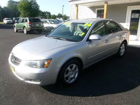 2006 Hyundai Sonata for sale in New Durham, NH