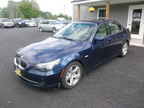 2008 BMW 5 Series for sale in New Durham, NH