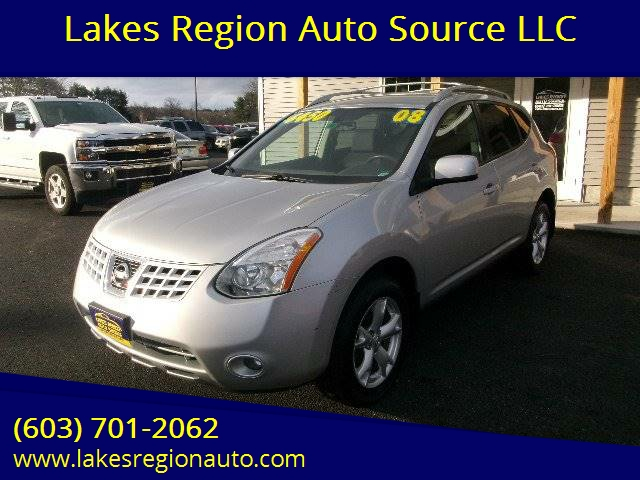 2008 Nissan Rogue Awd Sl Crossover 4dr In New Durham Nh Lakes