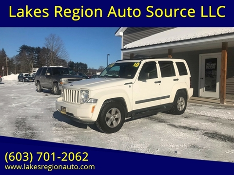 2010 Jeep Liberty for sale in New Durham, NH
