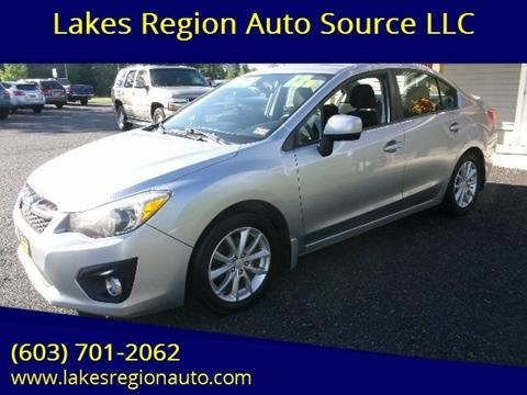 2012 Subaru Impreza for sale in New Durham, NH