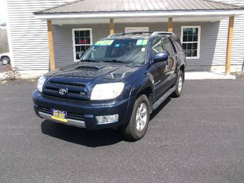 2005 Toyota 4Runner for sale at Lakes Region Auto Source LLC in New Durham NH