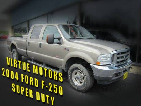 2004 Ford F-250 Super Duty for sale at Virtue Motors in Darlington WI