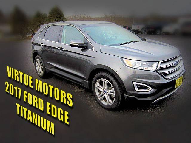 Ford Edge Awd Titanium Dr Crossover Darlington Wi