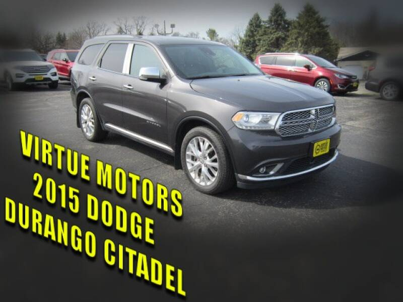 2015 Dodge Durango for sale at Virtue Motors in Darlington WI