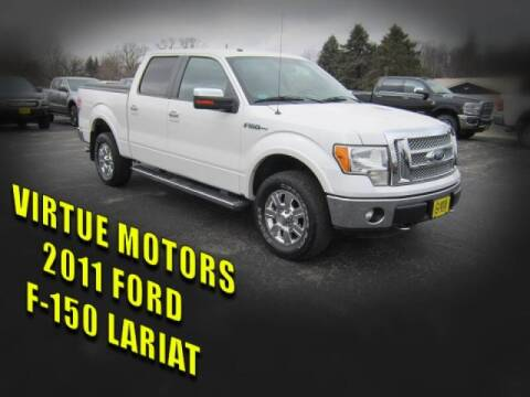2011 Ford F-150 for sale at Virtue Motors in Darlington WI
