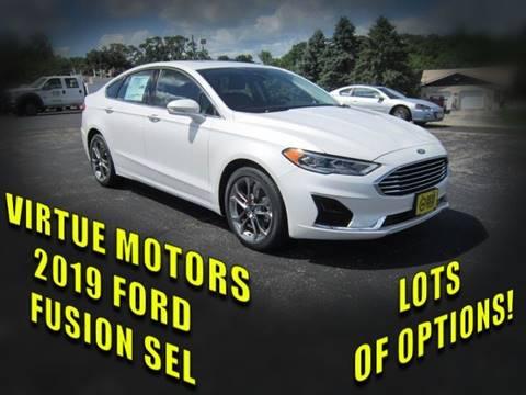 2019 Ford Fusion for sale in Darlington, WI