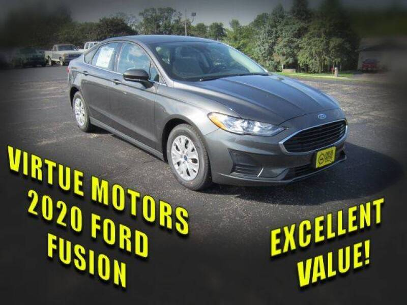 2020 Ford Fusion for sale at Virtue Motors in Darlington WI