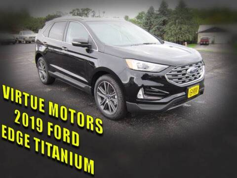 2019 Ford Edge for sale at Virtue Motors in Darlington WI