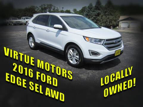 2016 Ford Edge for sale at Virtue Motors in Darlington WI