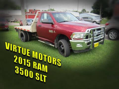 2015 RAM Ram Chassis 3500 for sale at Virtue Motors in Darlington WI