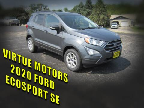 2020 Ford EcoSport for sale at Virtue Motors in Darlington WI