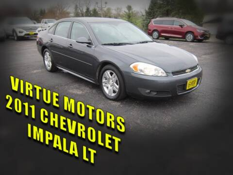 2011 Chevrolet Impala for sale at Virtue Motors in Darlington WI