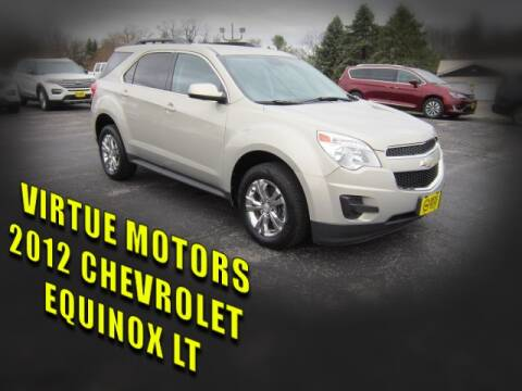 2012 Chevrolet Equinox for sale at Virtue Motors in Darlington WI